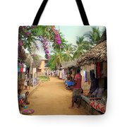 Shops In Madagascar Tote Bag
