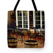 Shore Cafe Tote Bag