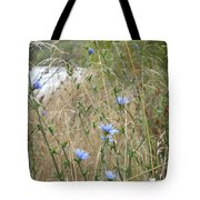 Shore Flowers Tote Bag