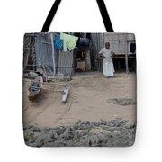 Shore Landing Welcome Tote Bag