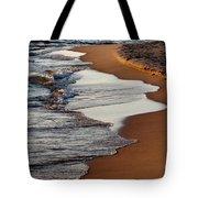 Shore Of Lake Michigan Tote Bag