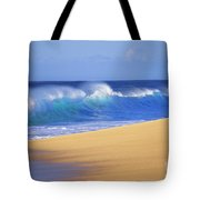 Shorebreak Waves Tote Bag by Ali ONeal - Printscapes