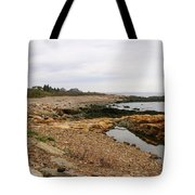 Shoreline Gloucester Massachusetts Tote Bag