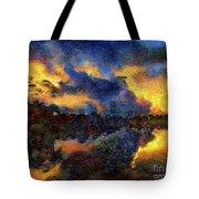 Shoreline Sunrise Tote Bag