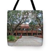 Shores Building At Florida State University Tote Bag