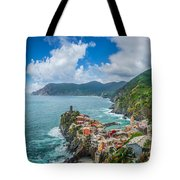 Shores Of Cinque Terre Tote Bag