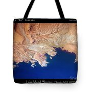 Shores Of Lake Mead Planet Art Tote Bag