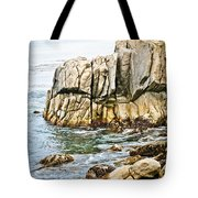 Shores Of Pebble Beach Tote Bag