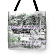 Shorey Park Bridge Tote Bag