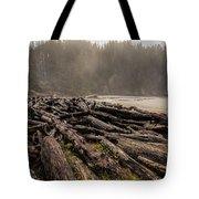 Short Sands Log Slash Tote Bag
