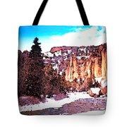 Shoshoni River Canyon Tote Bag