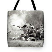 Shots Fired Civil War Tote Bag