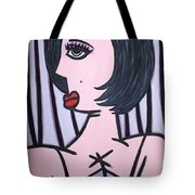 Show Girl Tote Bag