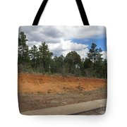 Show Low Pine Trees Tote Bag