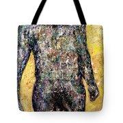Shower Man Tote Bag