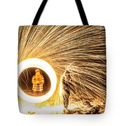 Shower Of Fire Tote Bag