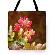 Shower Tree Blossoms Tote Bag