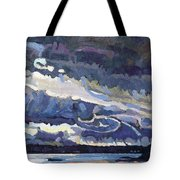 Showers Behind The Cold Front Tote Bag