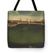 Shrewsbury And River Severn Tote Bag