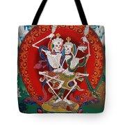 Shri Chittipati - Chokling Tersar Tote Bag