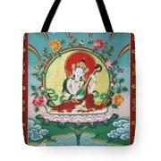 Shri Saraswati - Goddess Of Wisdom And Arts Tote Bag