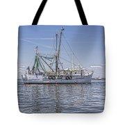 Shrimp Boat Tote Bag
