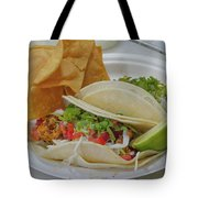 Shrimp Taco Tote Bag