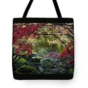 Shrine In Watercolors Tote Bag