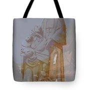 Shrine Reflections Tote Bag
