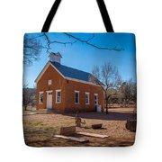 Shumway School House Tote Bag
