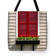 Shutter And Flowers Tote Bag