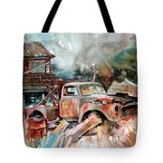 Shuttered And Cluttered And Gone Tote Bag