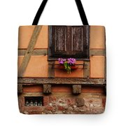 Shutters And Window Box In Kaysersberg Tote Bag