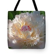 Shy Beauty Tote Bag