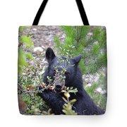Shy Berry Picker Tote Bag