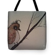 Shy Bird Tote Bag by Ginny Youngblood