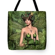 Shy Fairy Tote Bag