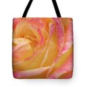 Shy Yellow Rose Tote Bag