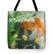 Siamese Fighting Fish 2 Tote Bag