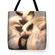 Siamese Lovers Tote Bag
