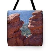 Siamese Twins And Pikes Peak Tote Bag
