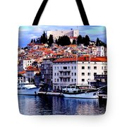 Sibenik Waterfront Tote Bag