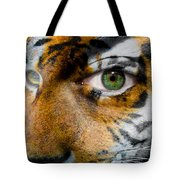 Siberian Man Tote Bag by Semmick Photo