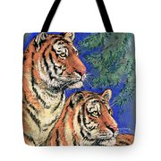 Siberian Tiger Tote Bag