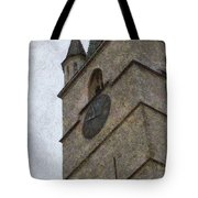 Sibiu Clock Tower Tote Bag