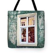 Sibiu Window Reflections - Romania Tote Bag