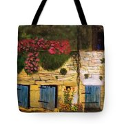 Sicilian Man Peers From A Window Tote Bag