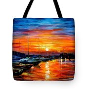Sicily - Harbor Of Syracuse Tote Bag