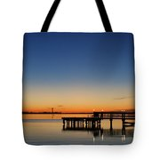 Calmer Waters Tote Bag