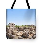 Side Ancient Shop Ruins Tote Bag